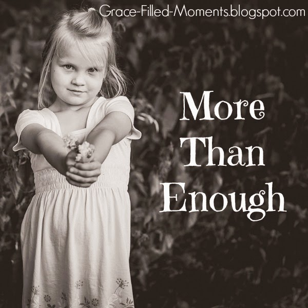 Jesus is more than enough