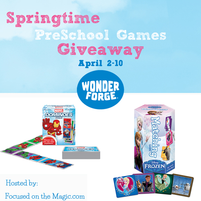 Win 2 Games - Disney's Frozen and Marvel PreSchool Game Giveaway