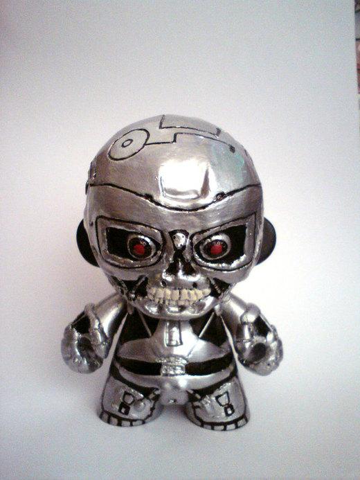 Terminator t-800 Munny por skylineBARR