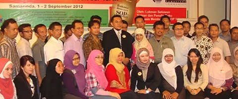 Workshop SOP di Samarinda