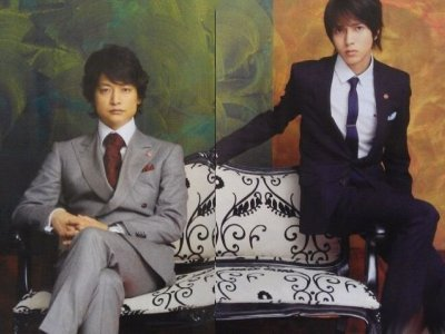 Shingo Katori (SMAP) e Yamashita Tomohisa