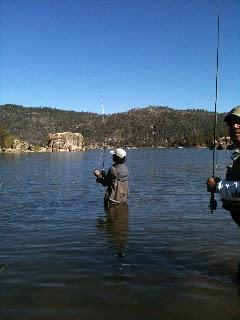 Open air big bear blog fly fishing on big bear lake for Fishing in big bear