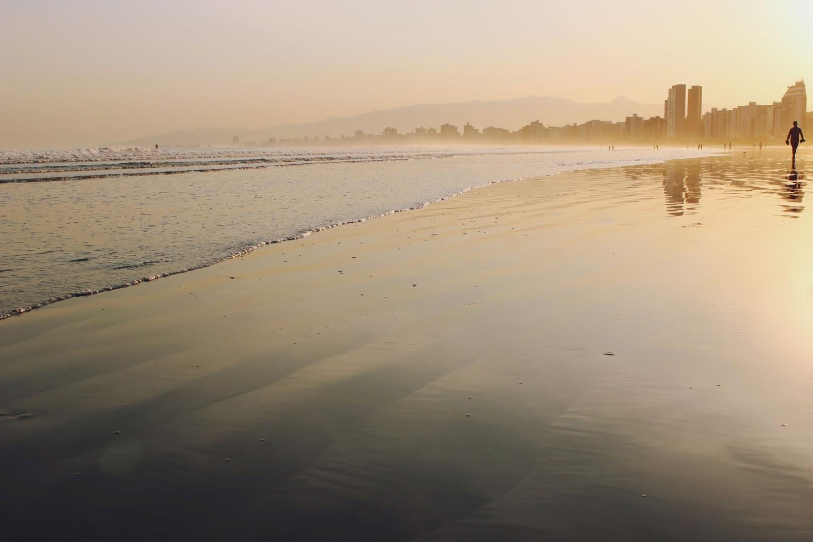 Blog Voyageur - Boas Vindas e Pôr-do-sol