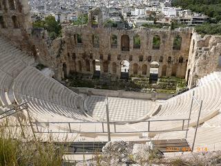 Roman Theatre Herodes Atticus - Acropolis