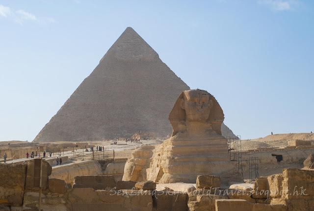埃及, egypt, 開羅, 吉薩, 獅生人面像