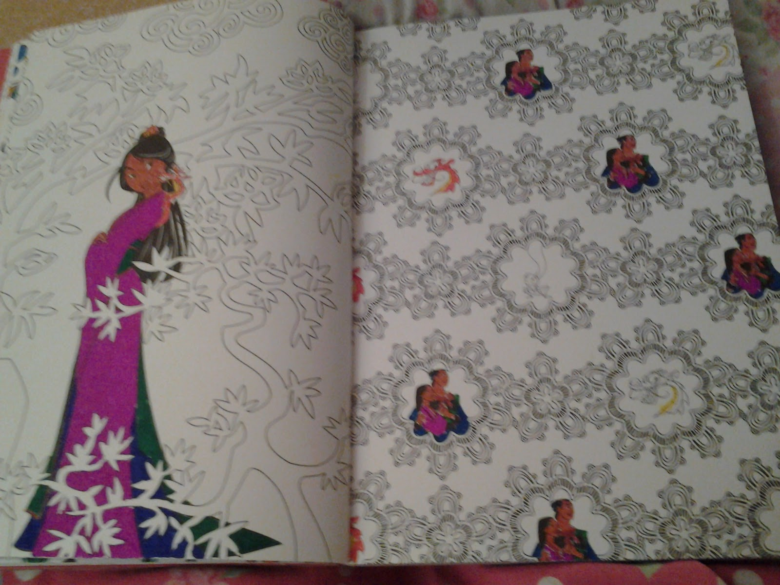 Disney princess art therapy colouring book - Nayu S Reading Corner What Are You Reading 297 Disney Art Therapy Coloring