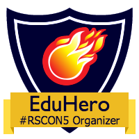 EDU organizer #RSCON5 badge