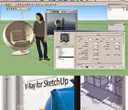 Install SketchUp8 dan V-Ray