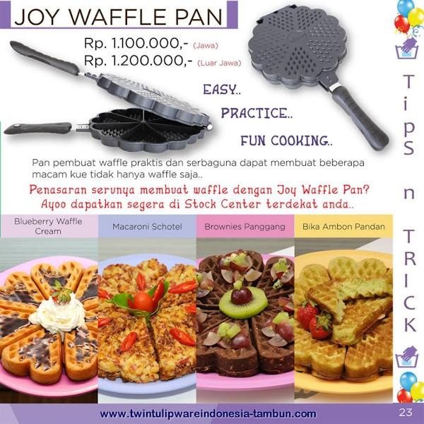 Tips & Trick : Joy Waffle Pan