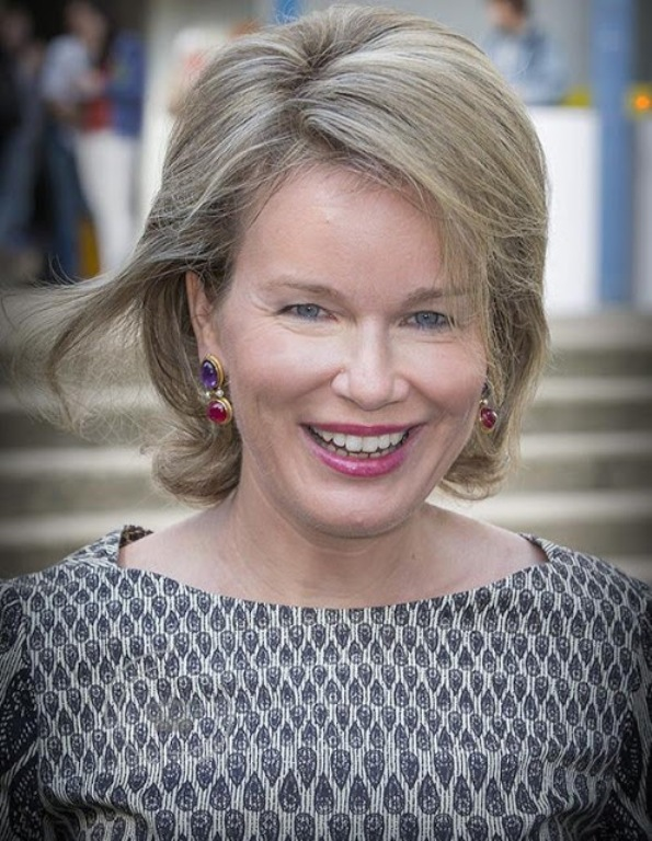 Queen Mathilde Was At National Immunization Programme