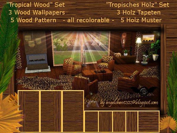 engelchen tropisches holz set n0 1. Black Bedroom Furniture Sets. Home Design Ideas