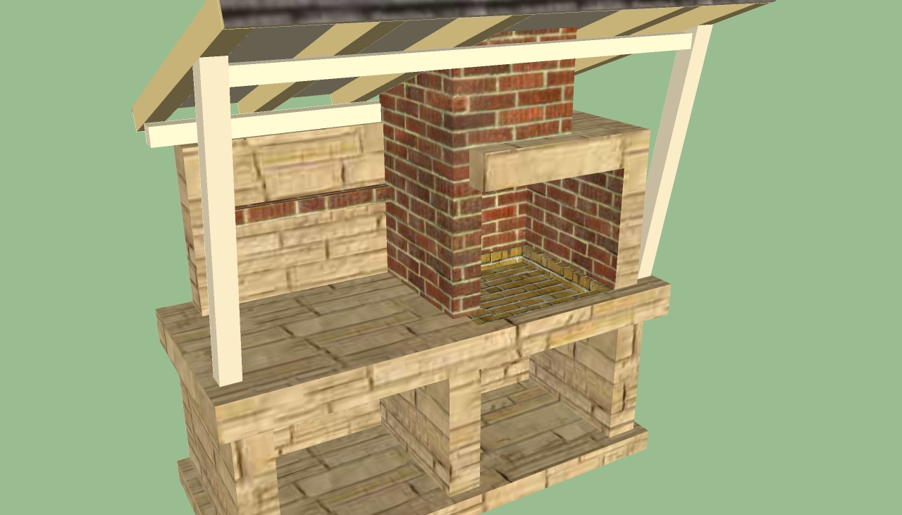 Howtospecialist - Pizza Oven Plans - Gazebo Plans Images - Frompo
