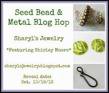 Seed Bead and Metal Blog Hop OCT 2013