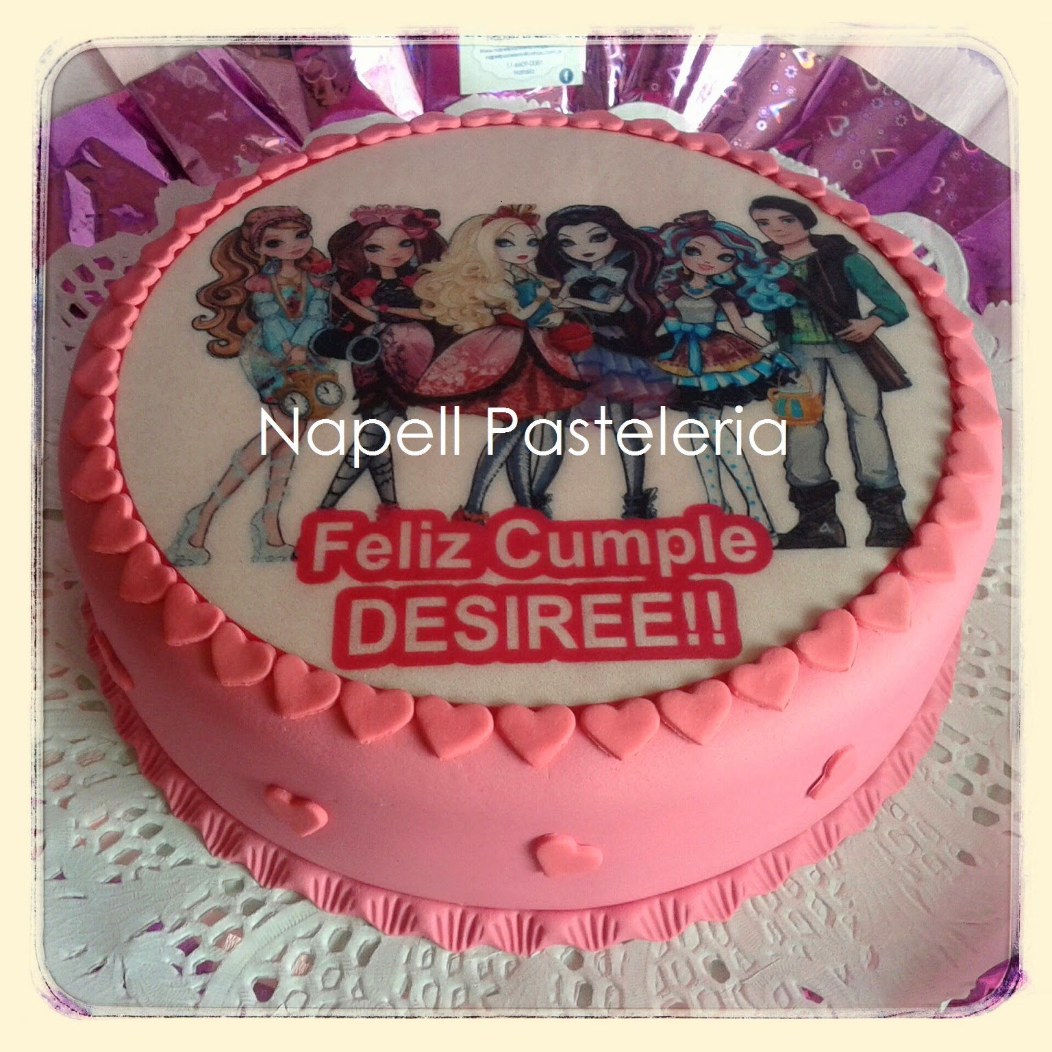 Foto torta Ever After High