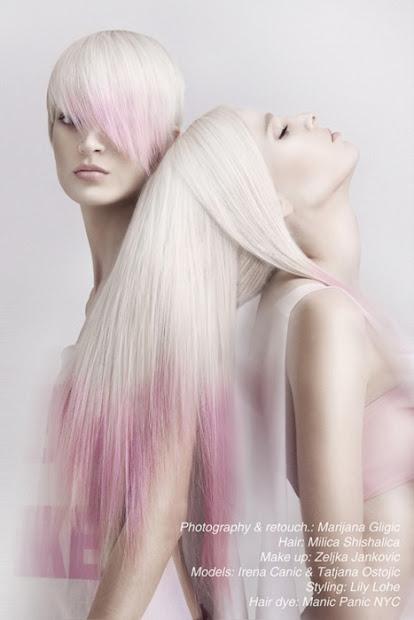 hair trend dipped tips spoilt