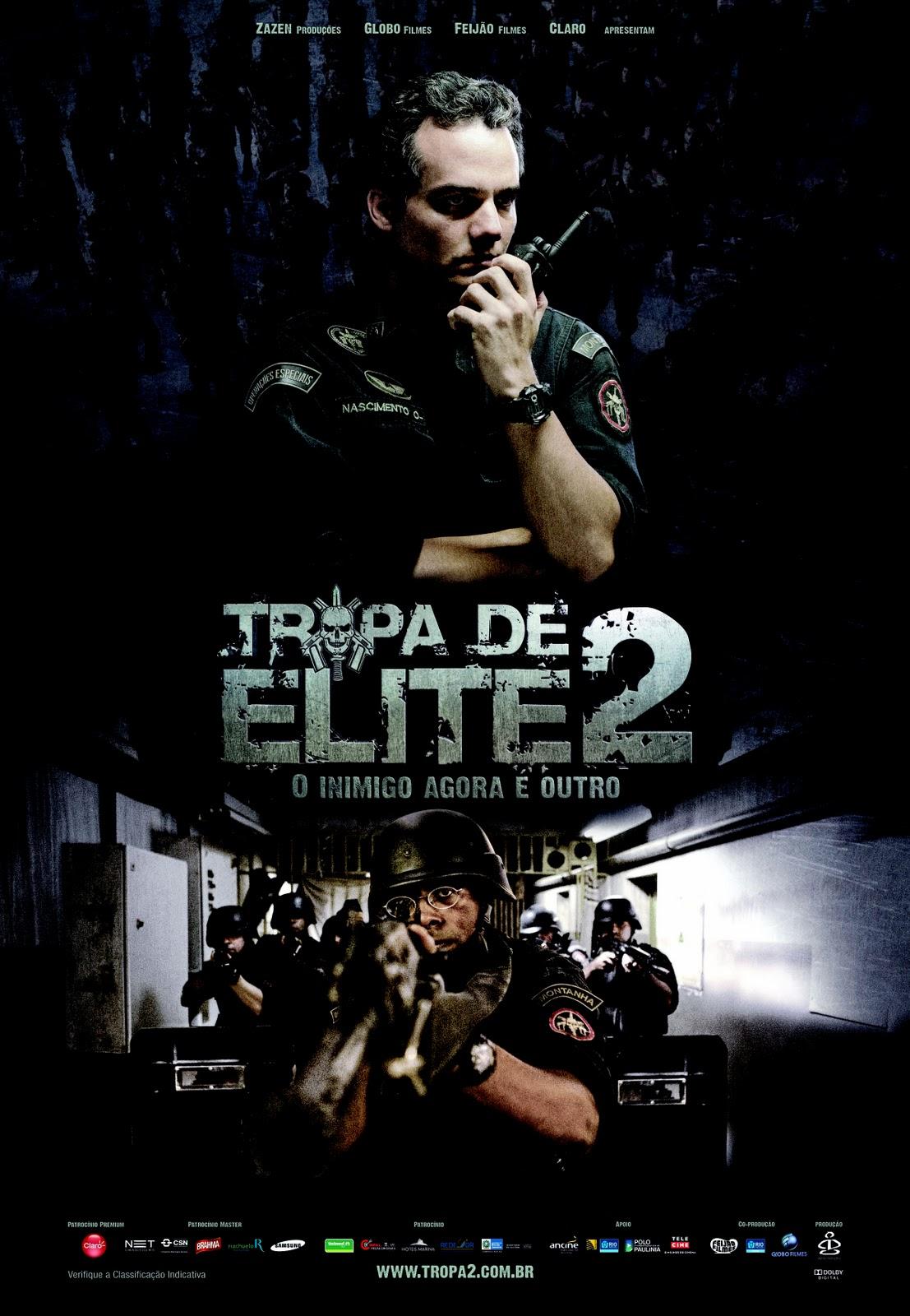 Lauro António Apresenta...: CINEMA: TROPA DE ELITE 2