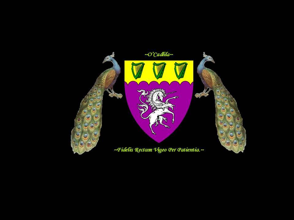 O'Cadhla Heraldic Crest