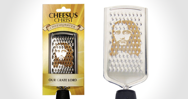 cheesus christ cheesgrater