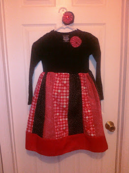 Valentines Day Patchwork Dress