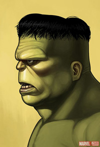 Mondo Hulk Print by Mike Mitchell