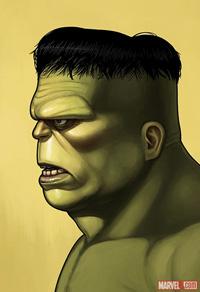 Mondo Hulk Print by Mike Mitchell