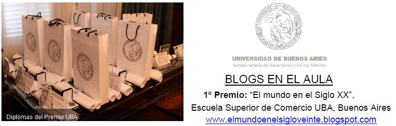 Ganadores Premio UBA 2014 – Categoría EduBlogs