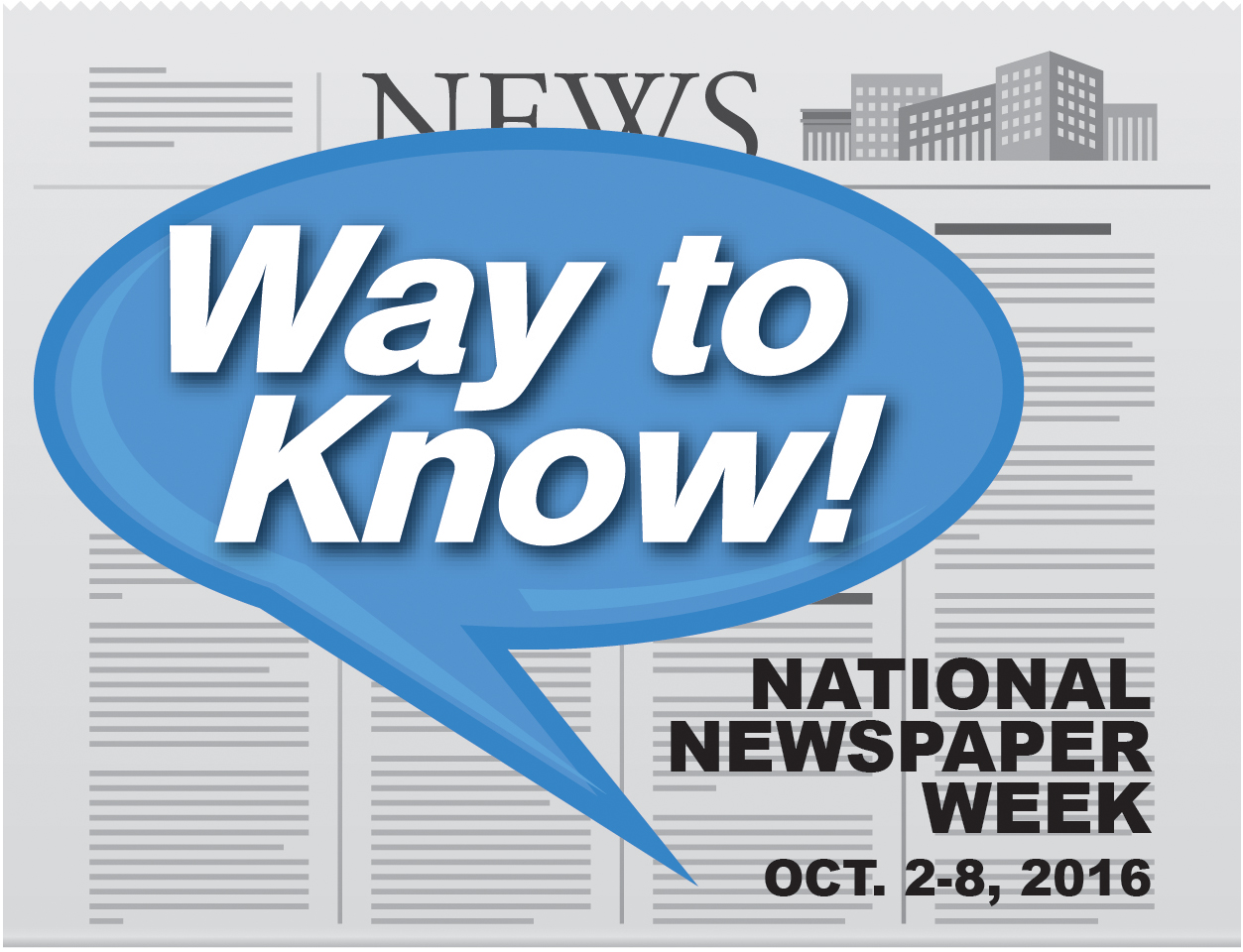 National Newspaper Week 2016