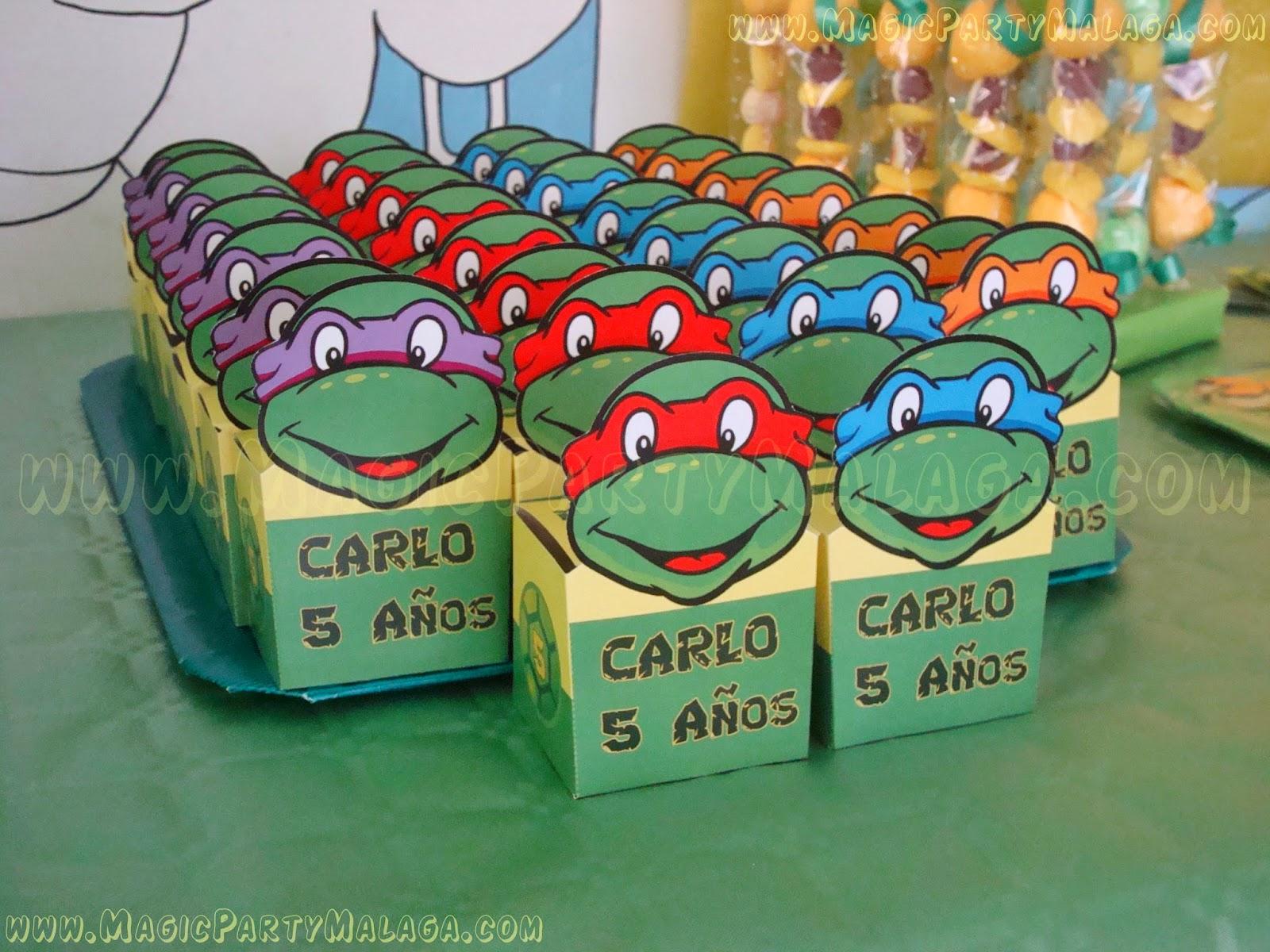 Magic Party Fiesta Tortugas Ninja