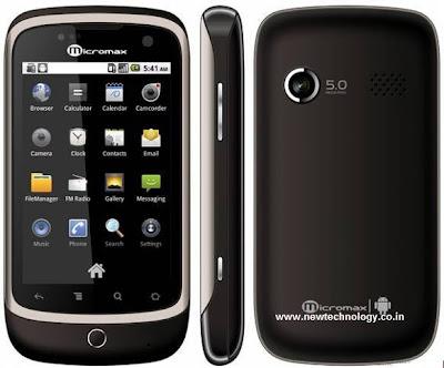 Micromax A70 Android Smartphone