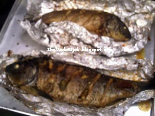 Baked fish ikan panggang