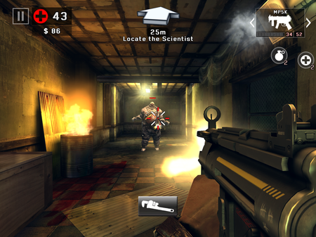 Review dead trigger 2 comes on android android planet there are also special zombies like the acid puking vomitron who can attack from a distance the irradiated scientist and a walking explosive barrel malvernweather Images