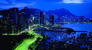 Amazing Cool Night City Speed Traffic HD Wallpaper