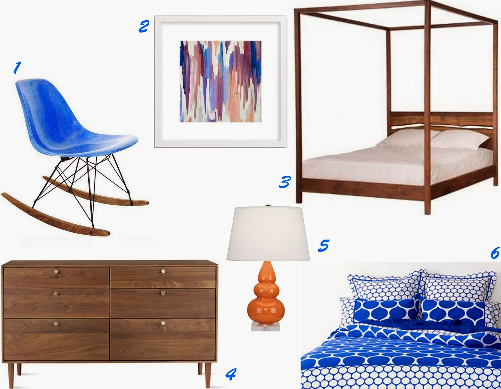 My never ending daydream decorating with cobalt blue for Cobalt blue bedroom ideas