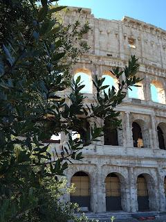 Vue du Colosseo - Colisée - Rome