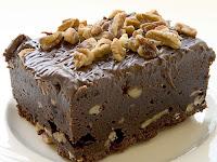 Receta de torta de Brownie para navidad
