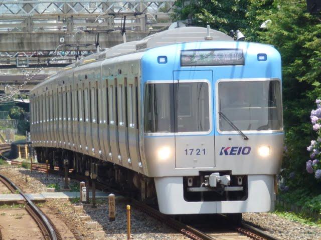 京王電鉄 急行 永福町行き 1000系5・6次車ライトブルー
