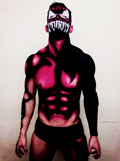 Prince Devitt paints himself as Superheroes and villains ...