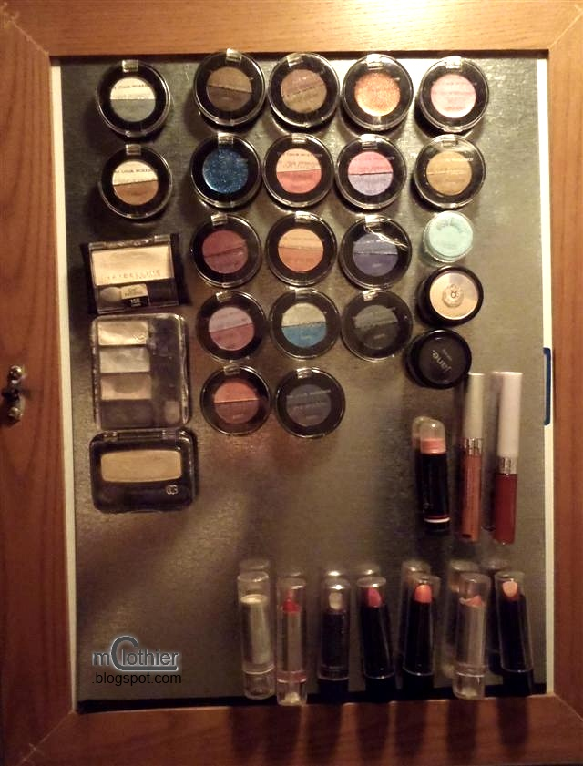 Nurse By Day Magnetic Makeup Board