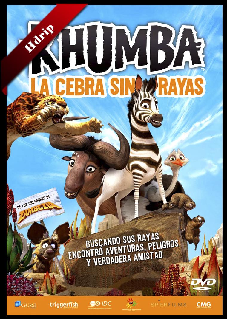 Khumba La Cebra Sin Rayas