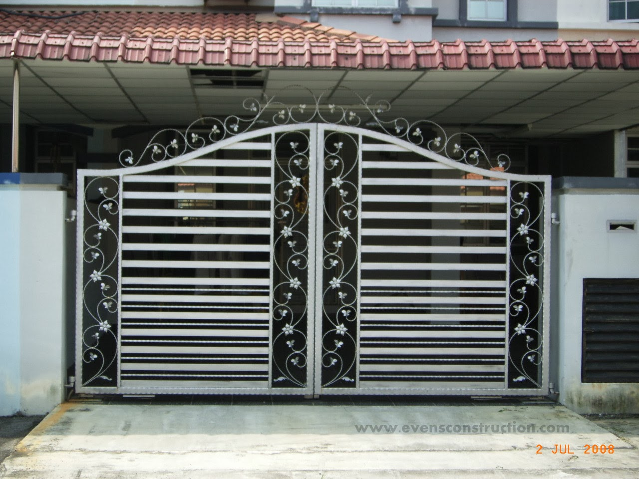 Design Of Compound Wall Gate : Gate designs compound wall