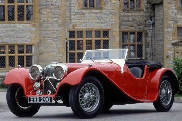 Jaguar SS100 Classic Cars