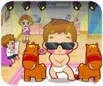 Gangnam Style nhí, chơi game vui online tại gamevui.biz