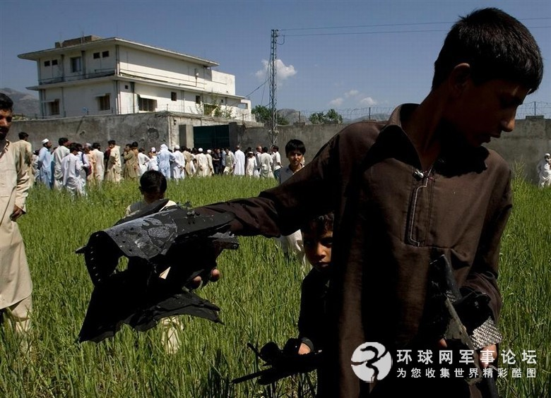 Photos of bin laden raid helicopter - China Military Report