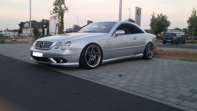 mercedes cl55 amg