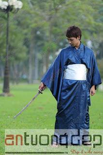 cho thuê trang phục kimono nam