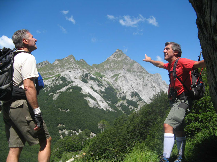 Alpi Apuane finestra sul Pisanino