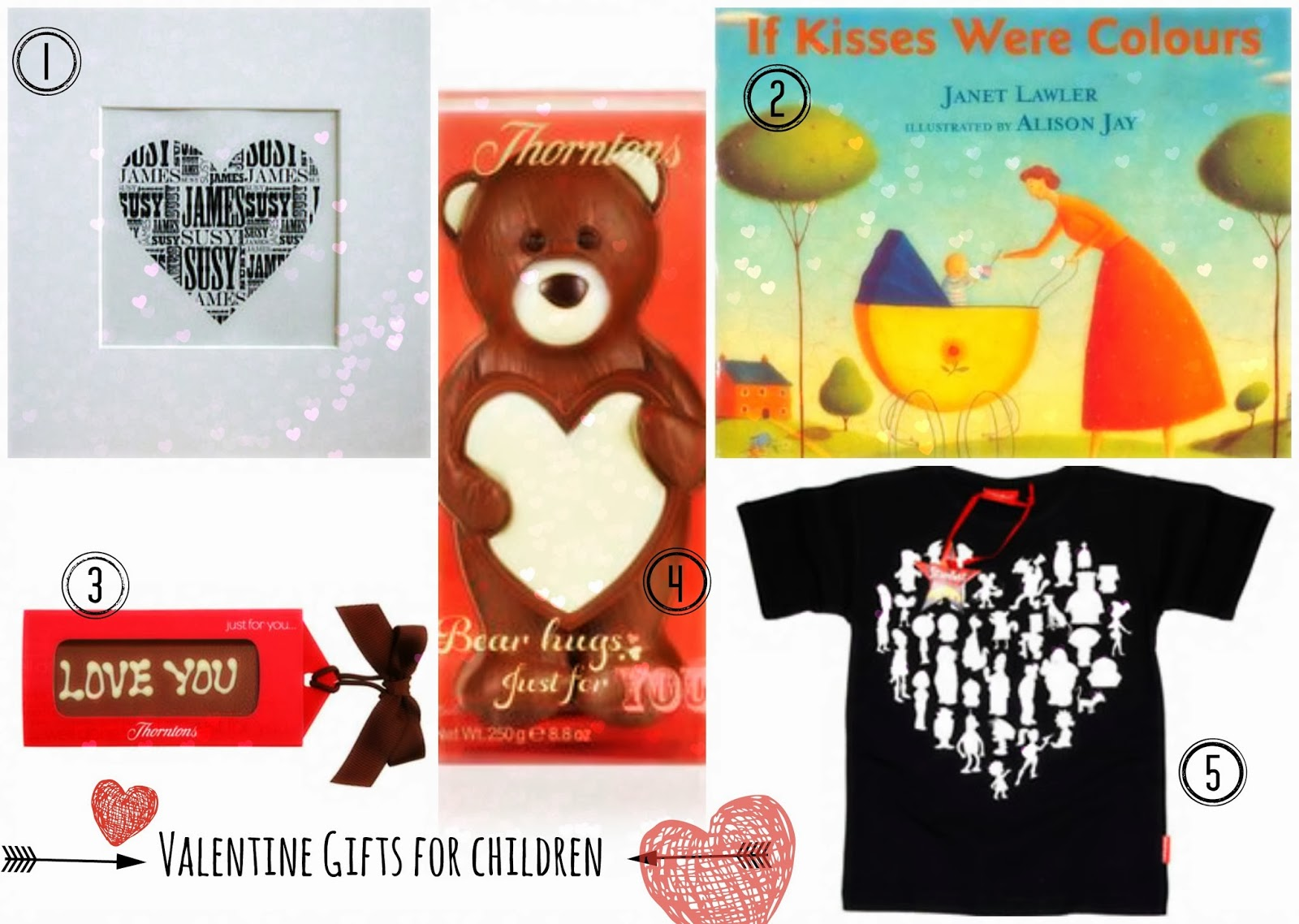 Valentine Day gifts for children