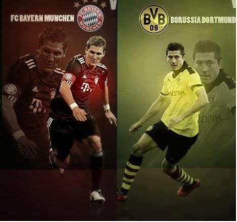موعد مباراه بايرن ميونيخ وبروسيا دورتموند والقنوات الناقله لها فى نهائى دورى ابطال اوروبا 2013  Bayern Munich vs BV Borussia Dortmund