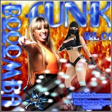 capa CD CD Booomba Funk Vol 1 2013