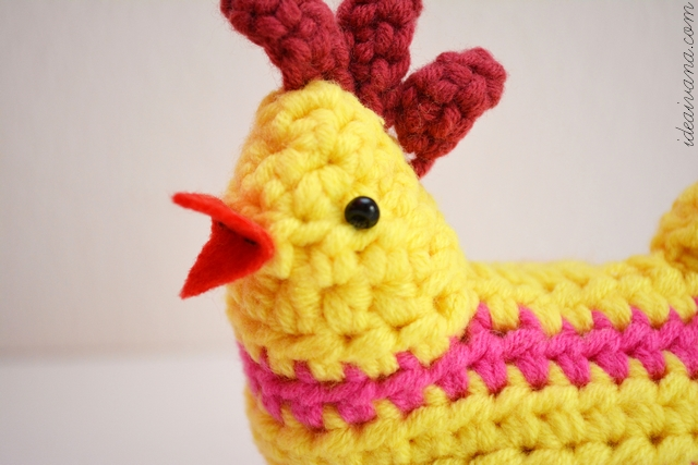 Knitted Chick Egg Cosy Pattern : idea ivana: Easter Crochet Chick Egg Cosy